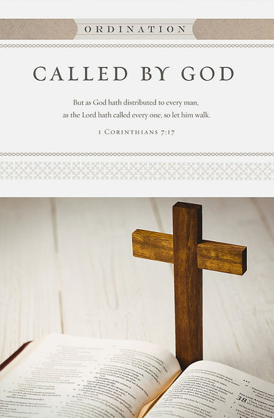 As The Lord Hath Called Bulletin (Pack of 100)