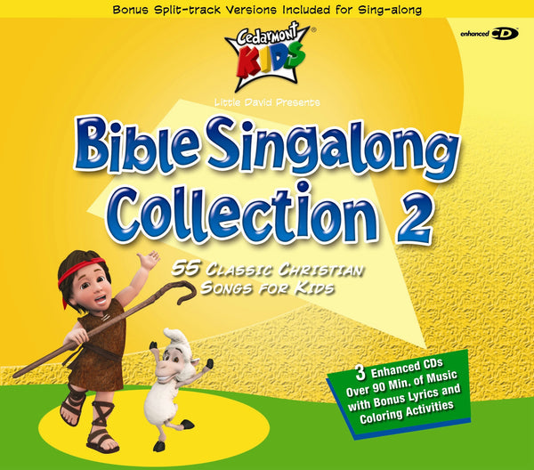 Bible Singalong Collection 2 Box Set - Cedarmont Kids - Re-vived.com