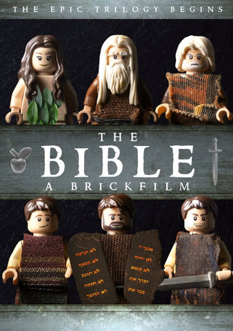The Bible - Part One (A Brickfilm) DVD