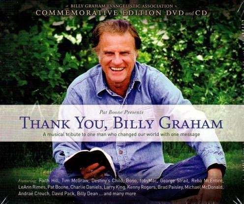 Thank You, Billy Graham DVD+CD