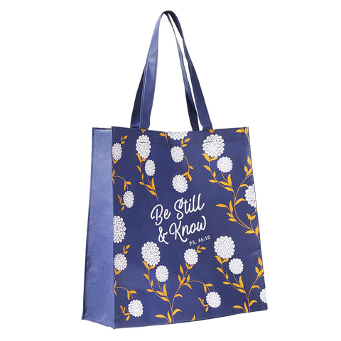 Tote Shopping Bag: Be Still