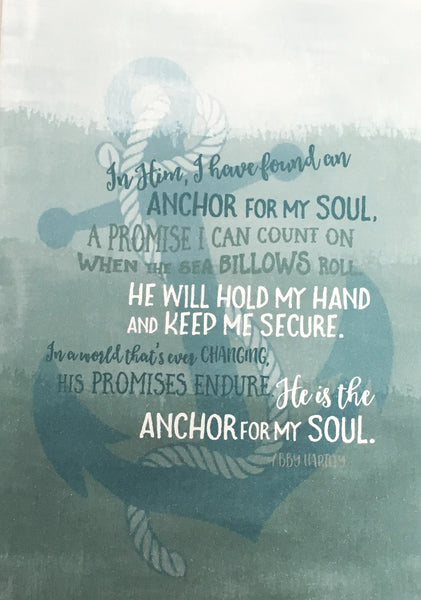 Anchor For My Soul - A6 Greeting Card