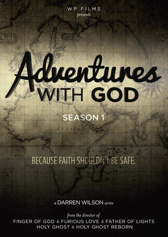 Adventures With God Season 1 - 4 DVD Set