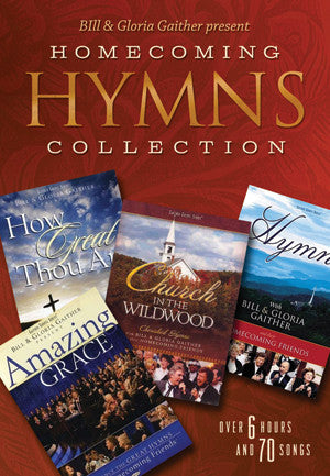 Bill & Gloria Gaither Present Homecoming Hymns Collection 4DVD - Bill & Gloria Gaither - Re-vived.com