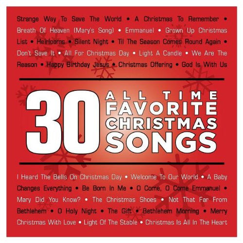 30 All Time Favorite Christmas Songs 2CDs