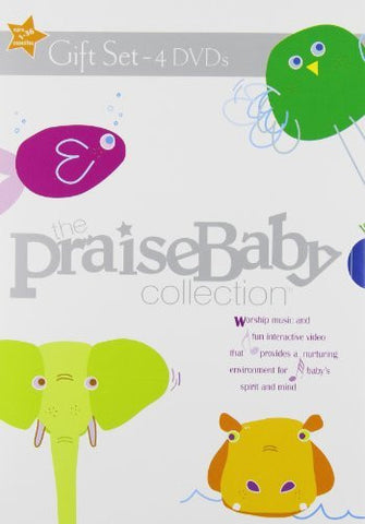 Praise Baby Collection 4 Gift Set [DVD] - Praise Baby - Re-vived.com