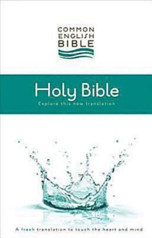 The Common English Bible (Bible Common English Thinline) - Various Artists - Re-vived.com