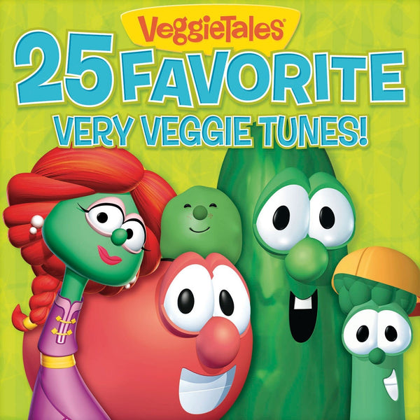 25 Favourite Very Veggie Tunes CD - VeggieTales - Re-vived.com