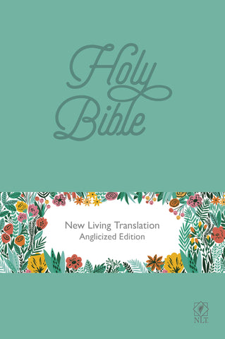 NLT Holy Bible: Teal Soft-tone Edition
