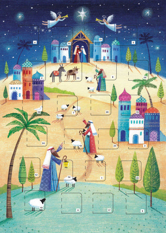 Journey to the Nativity A4 Advent Calendar