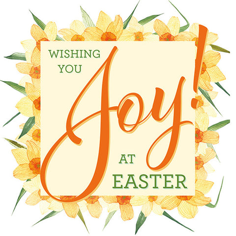Easter Cards: Wishing You Joy At Easter (Pack of 5)