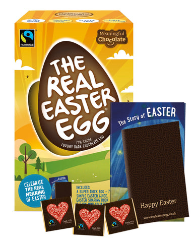 The Real Easter Egg - Dark Chocolate