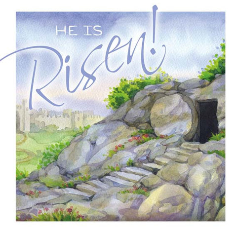 Easter Cards: He Is Risen (Pack of 5)