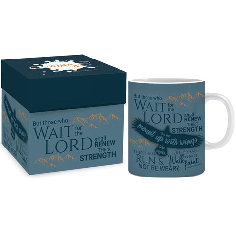 Eagles wings Mug & Gift box