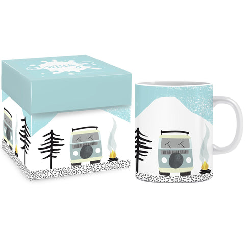 Campervan Mug & Gift box