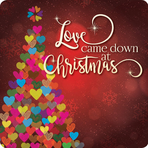 Love came down at Christmas Coaster