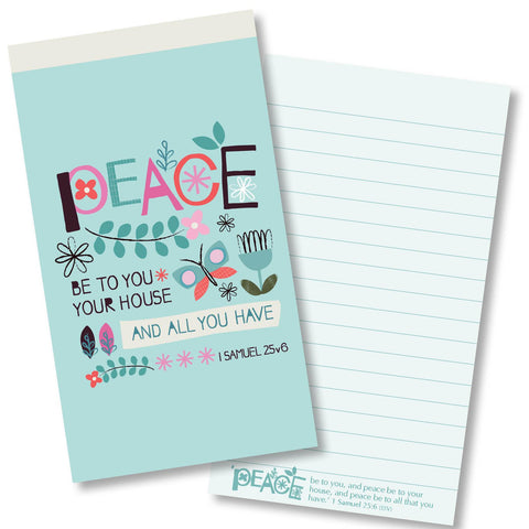 Peace be to your house Jotter Notepad