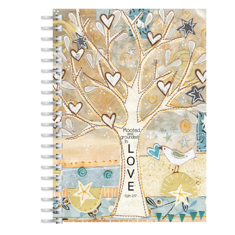 Rooted in Love A5 notebook