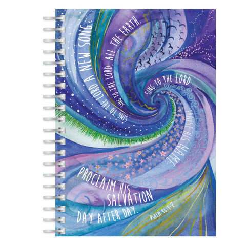 Sing to the Lord A5 notebook
