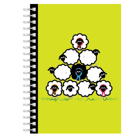 Sheep A5 notebook