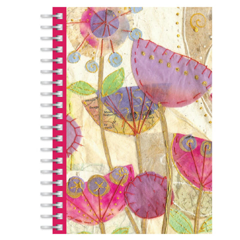 Poppies A5 notebook