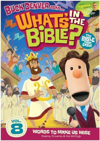 What's In The Bible Vol. 8: Words to Make Us Wise DVD - Phil Vischer - Re-vived.com