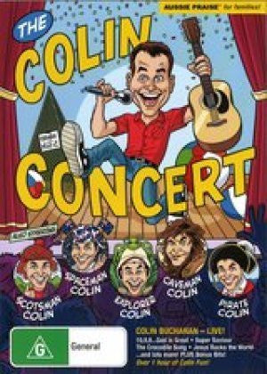 The Colin Concert DVD - Colin Buchanan - Re-vived.com