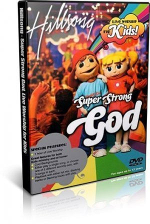 Hillsong Kids: Super Strong God [DVD] - Hillsong Kids - Re-vived.com