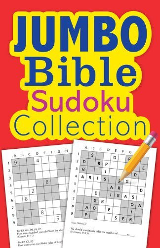 Jumbo Bible Sudoku Collection Paperback (Inspirational Book Bargains) - Re-vived - Re-vived.com