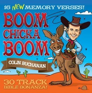 Boom Chicka Boom CD - Colin Buchanan - Re-vived.com