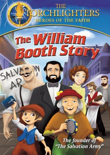 Torchlighters: The William Booth Story DVD - Torchlighters - Re-vived.com