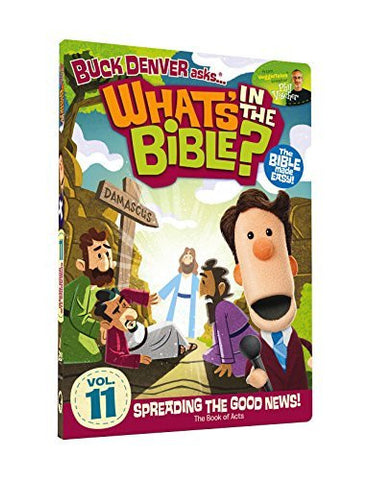 What's In The Bible Vol. 11: Spreading the Good News! DVD - Phil Vischer - Re-vived.com