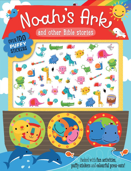 Noah's Ark and other Bible Stories (puffy stickers)