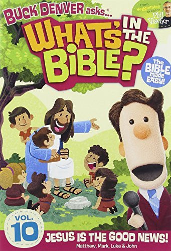 What's In The Bible Vol. 10: Jesus is the Good News! [DVD] - Phil Vischer - Re-vived.com