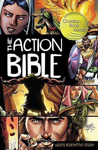 The Action Bible: God's Redemptive Story (Picture Bible) - David C. Cook - Re-vived.com