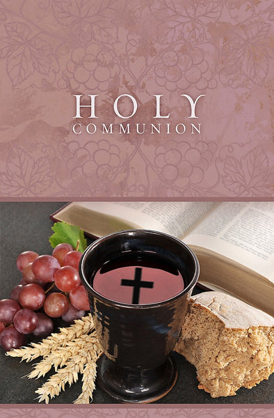 Holy Communion Bulletin (Pack of 100)