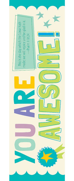 You Are Awesome Bookmark (Pack of 25)