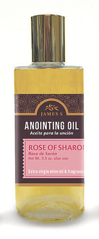 Anointing Oil Rose Of Sharon 3.5oz Altar Size