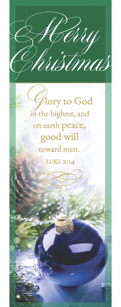 Glory To God Bookmark (Pack of 25)