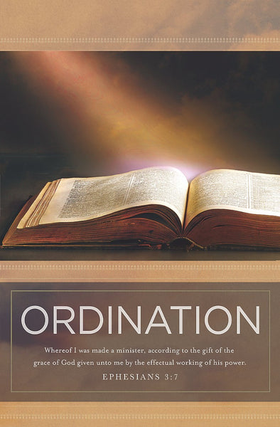 Ordination Bulletin (Pack of 100)