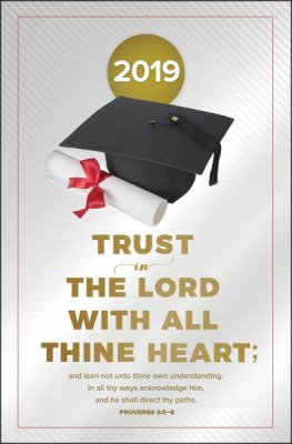 Trust In The Lord Bulletin (Pack of 100)