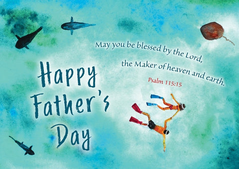 Happy Father's Day Postcard (pack of 20)