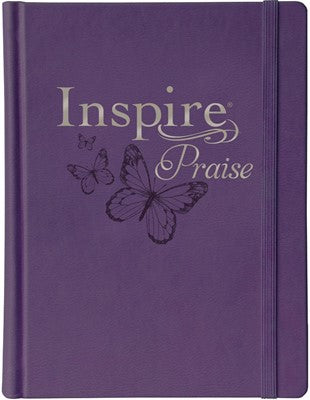 NLT Inspire PRAISE Bible, Purple