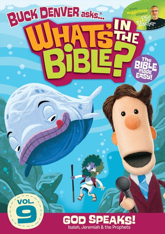 What's In The Bible Vol. 9: God Speaks DVD - Phil Vischer - Re-vived.com