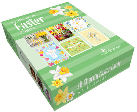 Compassion Charity Easter Cards: Boxed Assortment (20 in a box)