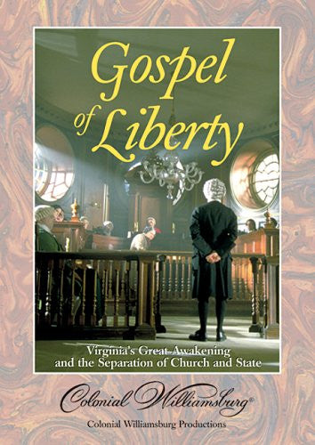 Gospel Of Liberty DVD - Vision Video - Re-vived.com