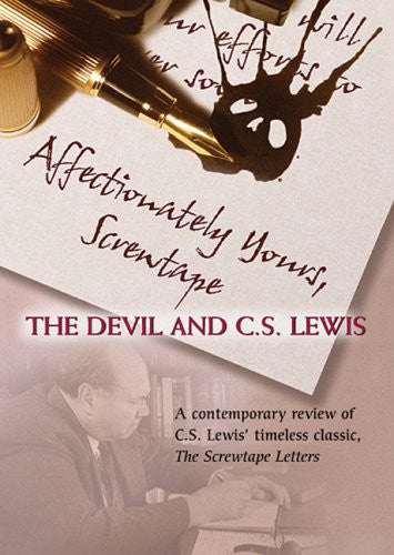 Affectionately Yours, Screwtape: The Devil and C.S. Lewis DVD - Vision Video - Re-vived.com