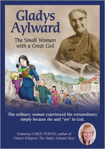 Gladys Aylward: The Small Woman With A Great God DVD - Vision Video - Re-vived.com