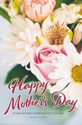 Mother's Day Bulletin (Pack of 100)