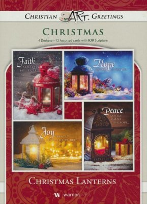 Christmas Lanterns Boxed Cards